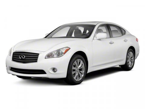 2012 Infiniti M37 Black V6 37L Automatic 51528 miles  Rear Wheel Drive  Power Steering  4-Wh