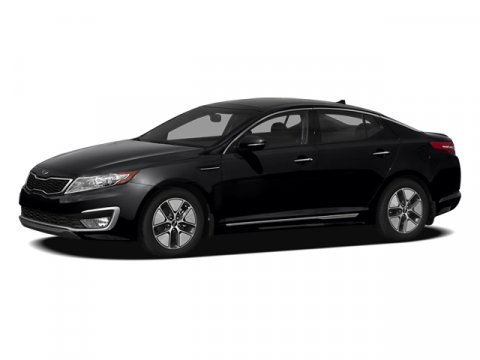 2012 Kia Optima Hybrid Ebony Black V4 24L Automatic 33217 miles Look at this 2012 Kia Optima
