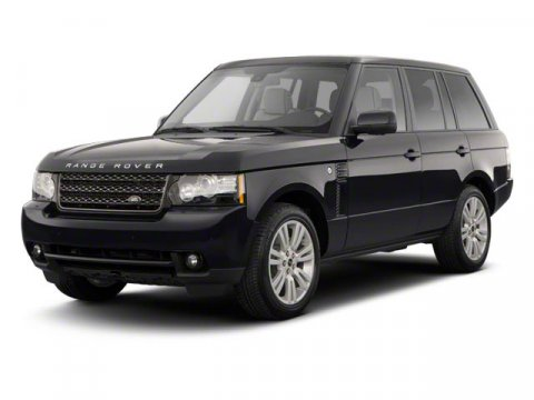 2012 Land Rover Range Rover HSE Super WhiteBlack V8 50L Automatic 119613 miles Look at this 20