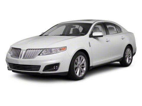 2012 Lincoln MKS 4DR SDN 37L FWD White V6 37L Automatic 26276 miles  Keyless Start  Front W