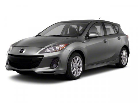 2012 Mazda Mazda3 i Grand Touring Crystal White Pearl Mica V4 20L Automatic 34602 miles A new