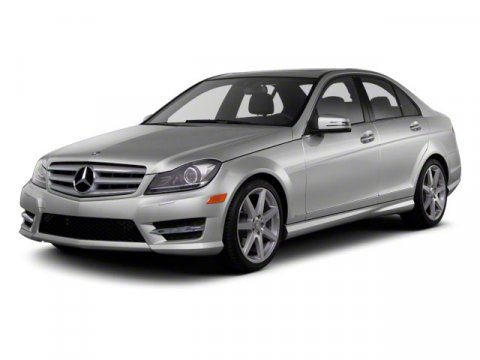 2012 Mercedes C-Class Arctic WhiteBLACK MB TEX V6 30L Automatic 23821 miles  All Wheel Drive
