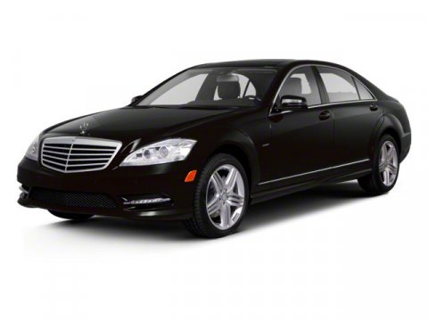 2012 Mercedes S-Class S550 RWD Palladium Silver MetallicBLACK LEATHER V8 46L Automatic 14580 mi