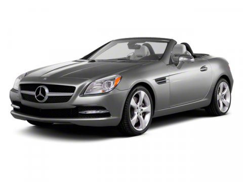 2012 Mercedes SLK-Class SLK350 BlackCHARCOAL LEATHE V6 35L Automatic 25459 miles  Rear Wheel