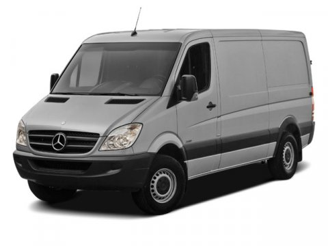 2012 Mercedes Sprinter Cargo Van 2500 170 Jet BlackLEATHERETTE BLA V6 30L Automatic 531 miles 