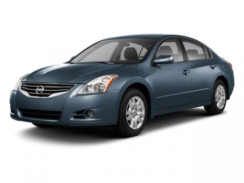 2012 Nissan Altima Winter Frost Pearl V4 25L Variable 114271 miles  Keyless Start  Front Whe