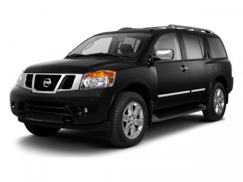 2012 Nissan Armada BLACK V8 56L Automatic 41132 miles  Four Wheel Drive  Tow Hitch  Power St