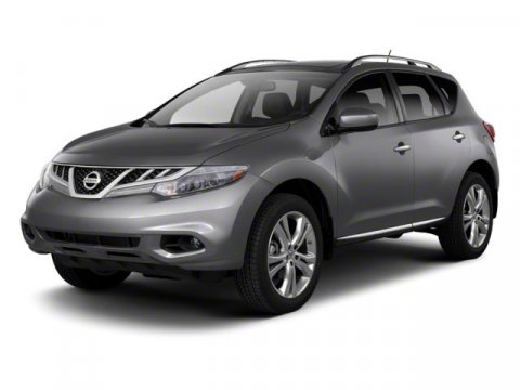 2012 Nissan Murano SL FWD BlackBlack V6 35L Variable 42395 miles One Owner Black with Black