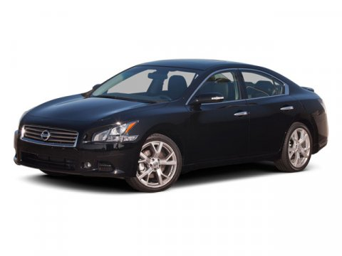 2012 Nissan Maxima 35 SV Navigation Super BlackCharcoal V6 35L Variable 31545 miles  Front W