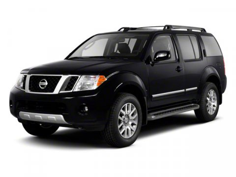 2012 Nissan Pathfinder S Super Black V6 40L Automatic 39703 miles  Four Wheel Drive  Tow Hit