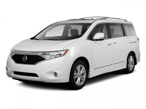 2012 Nissan Quest S White Pearl V6 35L Variable 56958 miles  Front Wheel Drive  Power Steerin