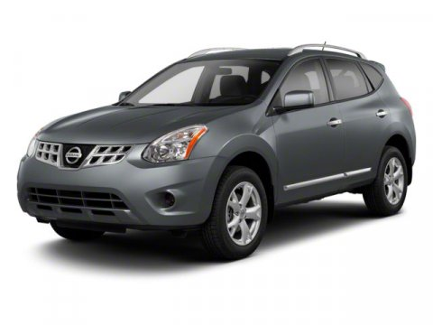 2012 Nissan Rogue Gray V4 25L Variable 62321 miles  All Wheel Drive  Tow Hooks  Power Steeri