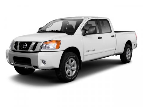 2012 Nissan Titan S Blizzard V8 56L Automatic 7 miles  Rear Wheel Drive  Power Steering  4-W