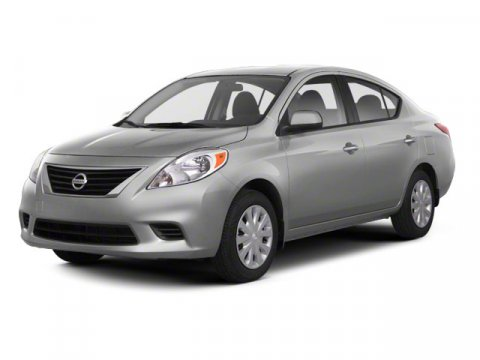 2012 Nissan Versa Super Black V4 16L Variable 22013 miles  Front Wheel Drive  Power Steering