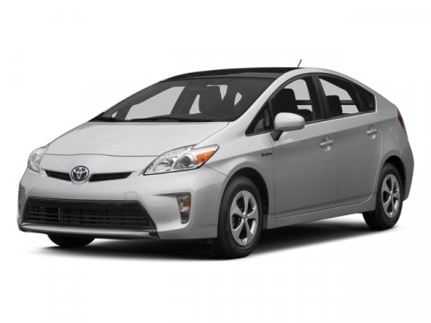 2012 Toyota Prius Hybrid Hatchback Classic Silver MetallicDark Gray V4 18L Variable 48726 mile
