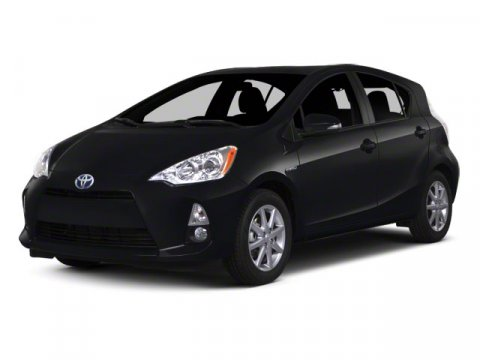 2012 Toyota Prius c Two Black Sand Pearl V4 15L Variable 37144 miles  Keyless Start  Front Wh