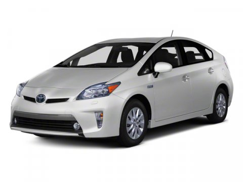 2012 Toyota Prius Plug-In Advanced Classic Silver MetallicDark Gray V4 18L Variable 85 miles