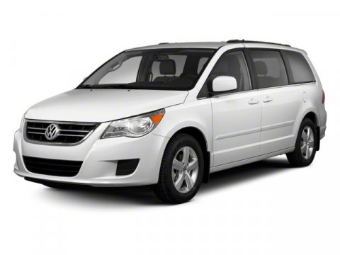 2012 Volkswagen Routan Calla Lily White V6 36L Automatic 6963 miles  Front Wheel Drive  Power