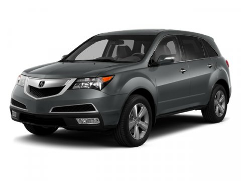 2013 Acura MDX Aspen White PearlTan V6 37L Automatic 23327 miles  All Wheel Drive  Power Ste