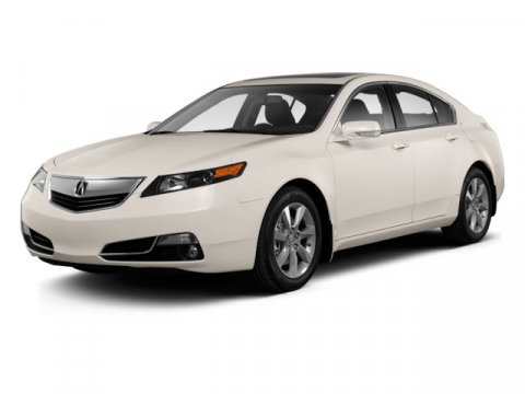 2013 Acura TL Tech Pkg FWD WhiteBlack V6 35L Automatic 43133 miles One Owner White with Blac
