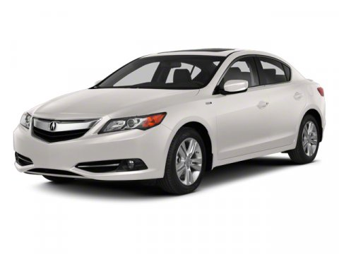 2013 Acura ILX Hybrid Tech Pkg FWD WhiteBeige V4 15L Variable 38952 miles Clean Carfax One O