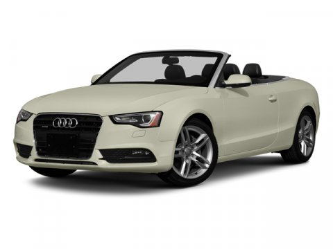 2013 Audi A5 20T Premium Convertible FWD BlackVelvet BeigeBrown V4 20L Variable 39473 miles