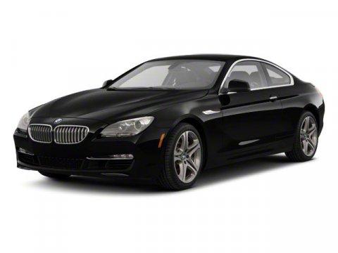 2013 BMW 6 Series 640i Carbon Black Metallic V6 30L Automatic 37747 miles Original MSRP 87