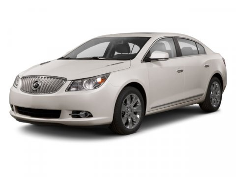 2013 Buick LaCrosse Leather White V4 24 Automatic 5 miles  Auto-Dimming Rearview Mirror  Driv