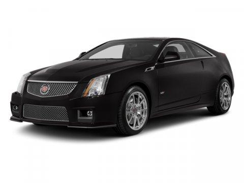 2013 Cadillac CTS-V Supercharged Coupe Black RavenEbonyEbony V8 62L Automatic 10275 miles  H