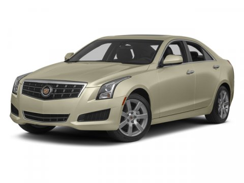 2013 Cadillac ATS Luxury White Diamond Tricoat V4 25L Automatic 38695 miles Navigation 17 x