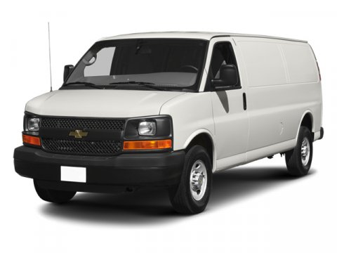 2013 Chevrolet Express Cargo Van Work Van Rear-wheel Drive Extend Summit WhiteMedium Pewter V8 4