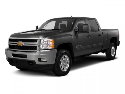 2013 Chevrolet Silverado 2500HD LTZ Z71 Off-Road Appearance Pkg Silver Ice Metallic V8 66L Auto