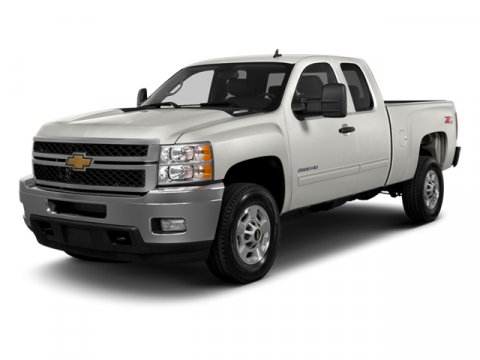 2013 Chevrolet Silverado 2500HD Work Truck Summit White V8 60L Automatic 250 miles  Four Wheel