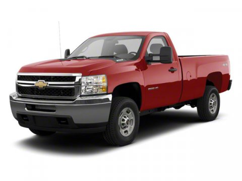 2013 Chevrolet Silverado 2500HD Work Truck Summit White V8 60L Automatic 150 miles  Rear Wheel