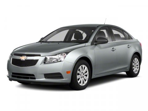 2013 Chevrolet Cruze LT FWD Silver Ice MetallicJet BlackSport Red V4 14L Automatic 35355 mile