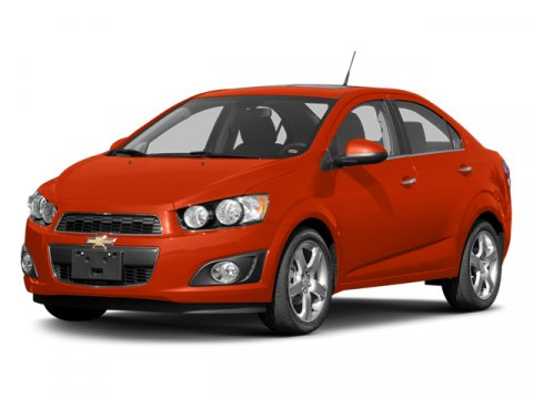 2013 Chevrolet Sonic LTZ Crystal Red TintcoatBLKTITAN V4 14L Automatic 5 miles  CRYSTAL RED T
