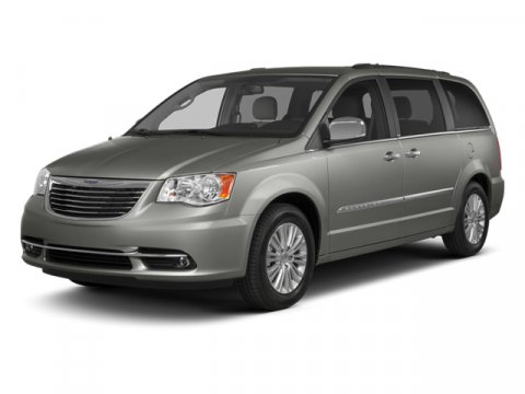 2013 Chrysler Town  Country Touring Maximum Steel MetallicBlackLight Graystone Interior V6 36L