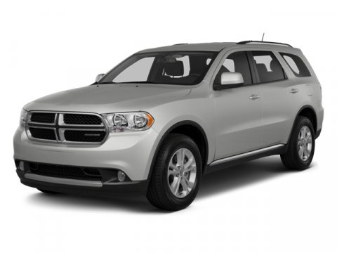 2013 Dodge Durango Crew Gray V6 36L Automatic 6277 miles  All Wheel Drive  Keyless Entry  Po