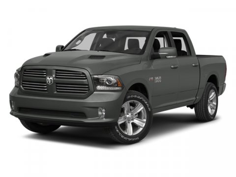 2013 Ram 1500 Bright Silver Metallic V8 57L Automatic 1 miles  Four Wheel Drive  Power Steeri