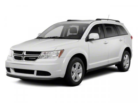 2013 Dodge Journey Crew Pearl White Tri-coat V6 36L Automatic 5910 miles  All Wheel Drive  Po