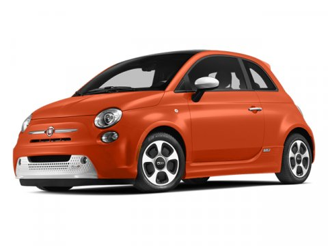 2013 FIAT 500e Battery Electric Electric Orange Tri-Coat Pearl V 0 Automatic 0 miles The exciti