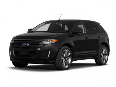 2013 Ford Edge Sport Tuxedo Black MetallicHw Leather WSilver Inserts Charcoal Black V6 37L Auto