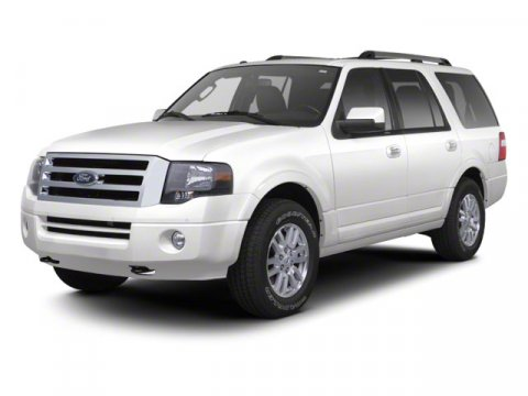 2013 Ford Expedition XLT White V8 54L Automatic 12 miles  Rear Wheel Drive  Tow Hitch  Power