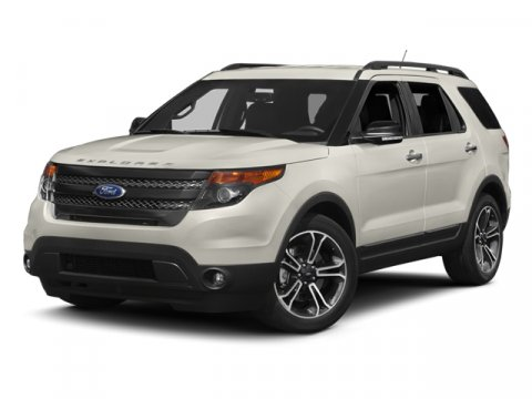 2013 Ford Explorer Sport White Platinum Metallic Tri-CoatCharcoal Black Interior V6 35L Automati