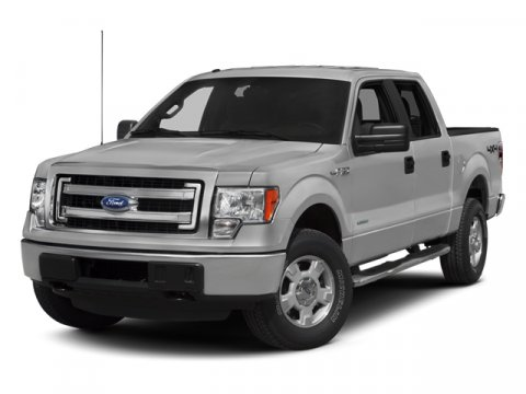 2013 Ford F-150 V6 SuperCrew XLT EcoBoost 4X4 WhiteSteel Gray V6 35L Automatic 44972 miles No