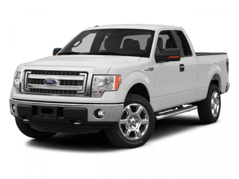 2013 Ford F-150 SUPER CAB ECOBOOST White V6 35L Automatic 10024 miles  Rear Wheel Drive  Pow
