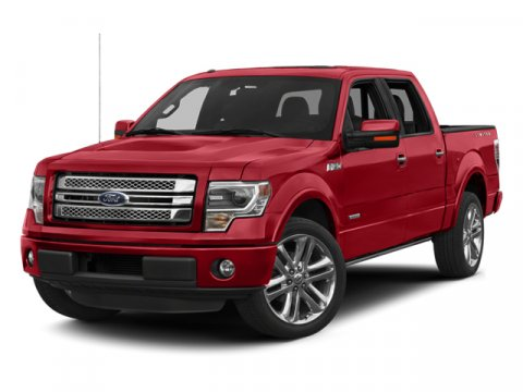2013 Ford F-150 Limited White Platinum Metallic Tri-CoatTB LIMITED LEATHER BUCKET SEATS BLACK INTE