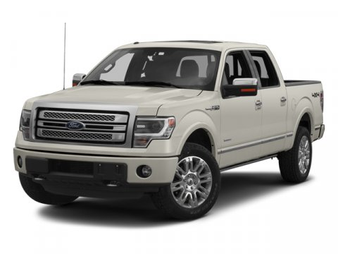 2013 Ford F-150 Platinum White Platinum Metallic Tri-Coat9B PLATINUM BLACK LEATHER BUCKET BLACK IN
