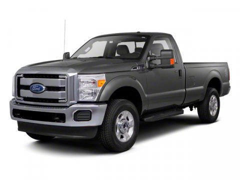2013 Ford Super Duty F-250 SRW XL Oxford WhiteVinyl 402040 Seats Steel V8 62L Automatic 28 mi