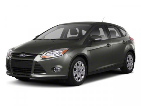2013 Ford Focus Titanium Ruby RedCharcoal Black V4 20L Manual 6 miles  Remote Engine Start  F